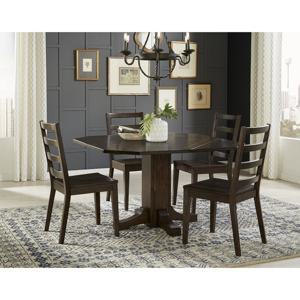 Shop Simply Solid Sasha 5-piece Solid Wood Dining Set
