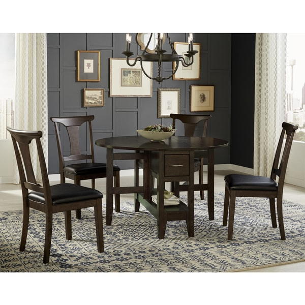 Shop Issa 5-piece Solid Wood Dining Set