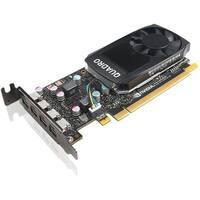 Lenovo Quadro P600 Graphic Card - 2 GB GDDR5 - Low-profile