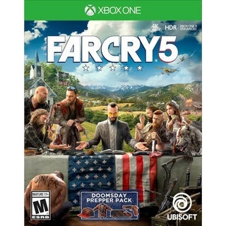 Microsoft Xbox One Far Cry 5 Video Game