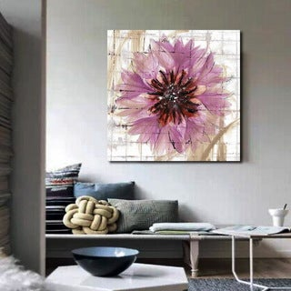 'Summer Flowers' Gallery-wrapped Canvas Wall Art