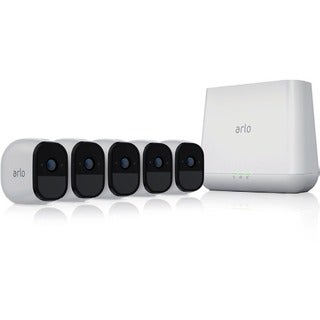 Arlo Pro 5-Camera Indoor/Outdoor Wireless 720p HD Surveillance System