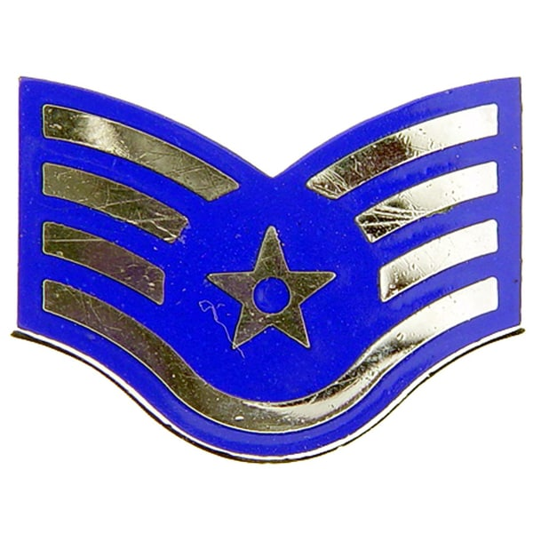 US Air Force Staff Sergeant E5 Lapel Pin