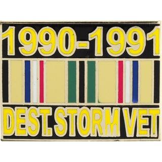 Desert Storm Veteran Lapel Pin 1990-1991