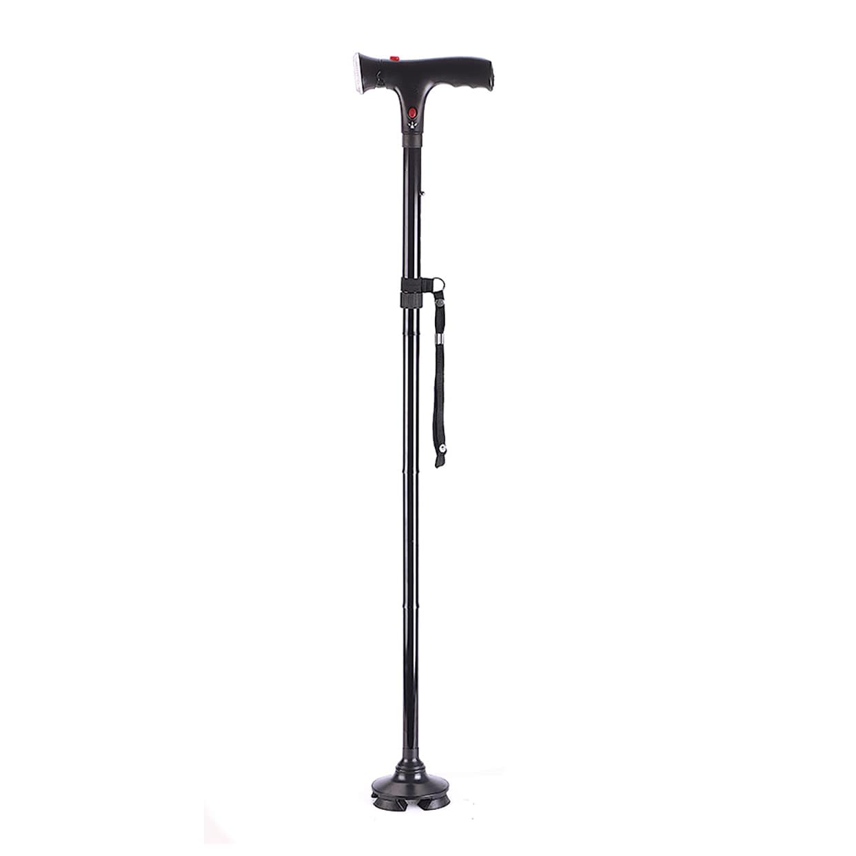 Deluxe Comfort Multi-Function Cane and Walking Stick, Sil...