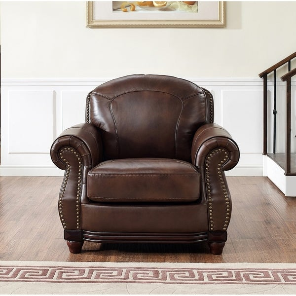Superieur Mesa Brown Leather Chair