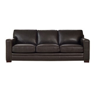 Florence Grey Leather Sofa