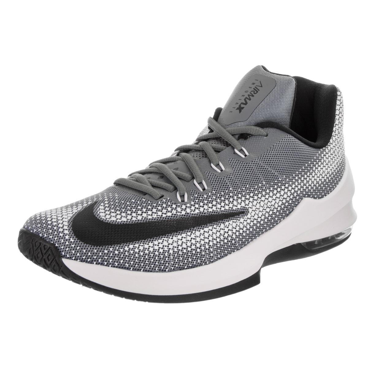 Nike Men's Air Max Infuriate Low Basketball Shoe (11), Gr...