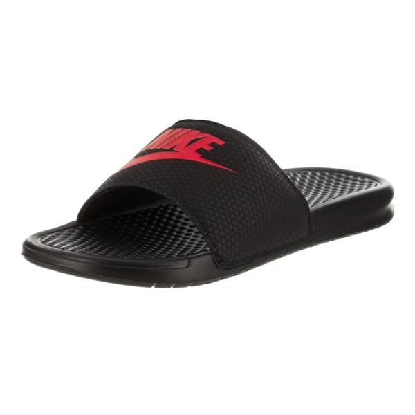 Shop Nike Men s Benassi JDI Sandal - Free Shipping On Orders Over ... 4e089d37f