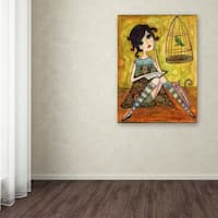 Wyanne 'A Good Book' Canvas Art