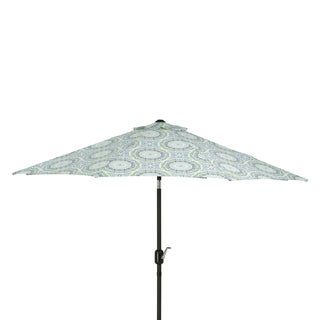 Pillow Perfect Delancey Lagoon 9-foot Patio Market Umbrella