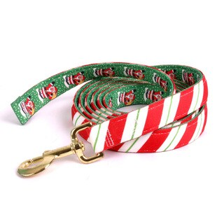 Red Haute Horse Peppermint Stick on Santa Claus Horse Lead