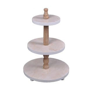 Cheung's Home Wood 3-tier Display Stand