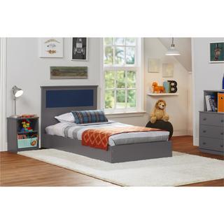 Ameriwood Home Skyler Twin Bed with Reversible Headboard
