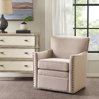 Madison Park Farina Swivel Chair 3 Color Option 28 75 W X 31 5 D