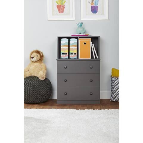 Taylor & Olive Loktak 3-drawer Dresser with Cubbies