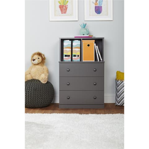 Taylor & Olive Schryver 3-drawer Dresser with Cubbies