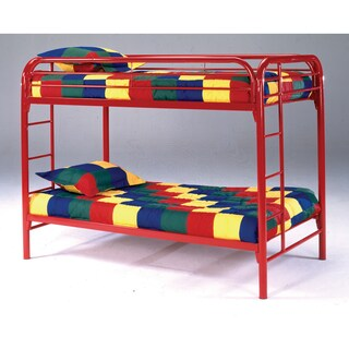 Edison Metal Twin-over-twin Bunk Bed (3 options available)