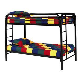 Edison Metal Twin-over-twin Bunk Bed