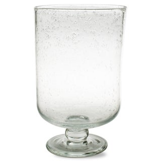 TAG Bubble Glass Hurricane Medium