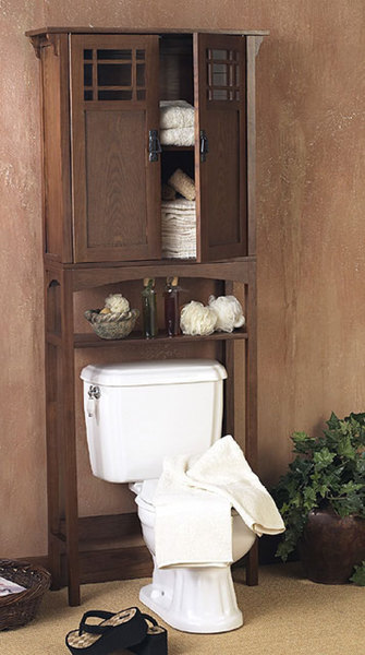 Mission Bathroom Spacesaver. Mission Bathroom Spacesaver   Free Shipping Today   Overstock com