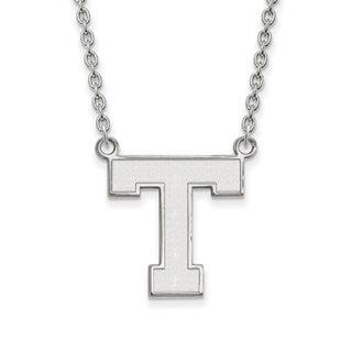 Sterling Silver LogoArt Tarleton State University Large Pendant with Necklace