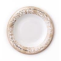 Darbie Angell Athena 24Kt Gold Rim Soup Bowl