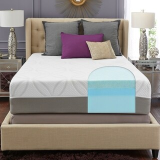 TRUPedic 14-inch Queen GEL Memory Foam Mattress