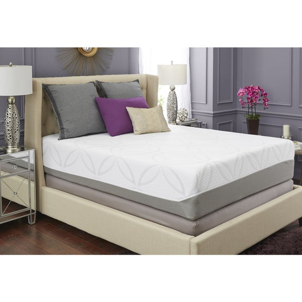 mattress usa. trupedic 14-inch queen gel memory foam mattress - free shipping today overstock.com 22526315 usa