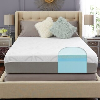 TRUPedic USA 12-inch Create your Comfort Queen-size Gel Memory Foam Mattress