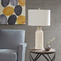 INK+IVY Chateau Beige Table Lamp