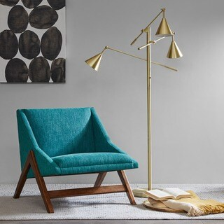 INK+IVY Sullivan Gold Floor Lamp