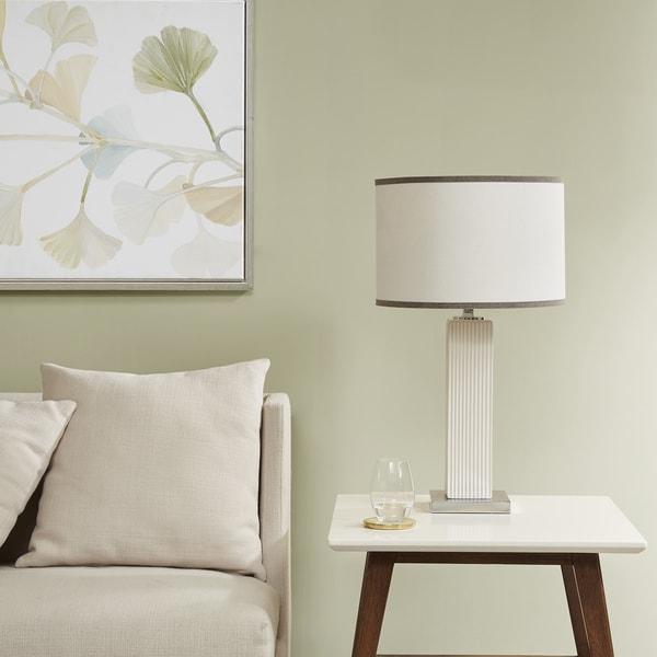Madison Park Signature Chelsea Cream Table Lamp