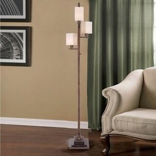 "Catalina Nicholson 74"" 4-Way Transitional Metal Floor Lamp"