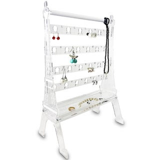 Ikee Design Acrylic Jewelry Display Earring Stand Organizer Holder Eiffel Tower