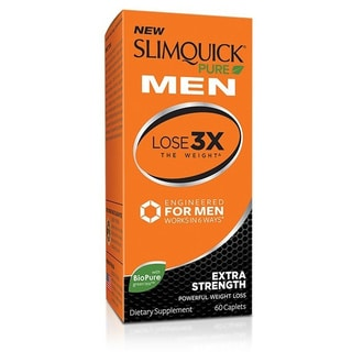 Slimquick Pure Men Weight Loss Supplement (60 Caplets)