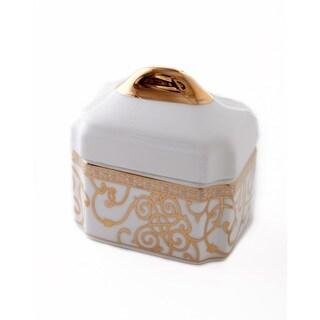 CRU by Darbie Angell Athena 24Kt Gold Sugar Bowl