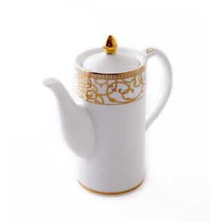 CRU by Darbie Angell Athena 24Kt Gold Tea Pot