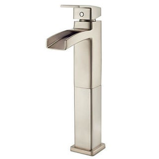 Pfister Kenzo Brushed Nickel Single-handle Vessel Faucet