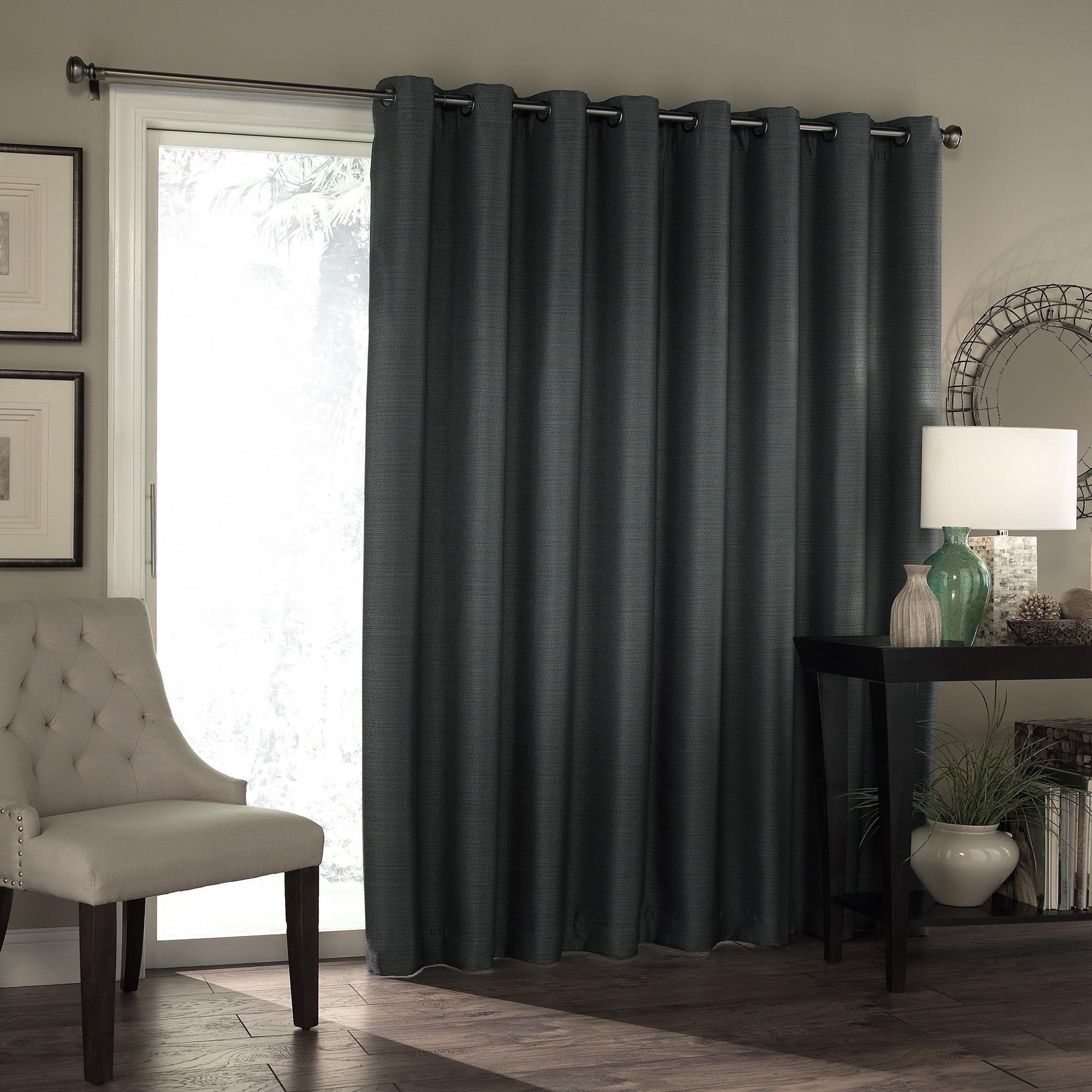Top Blackout Patio Door Curtain Panel Zachary Kristen