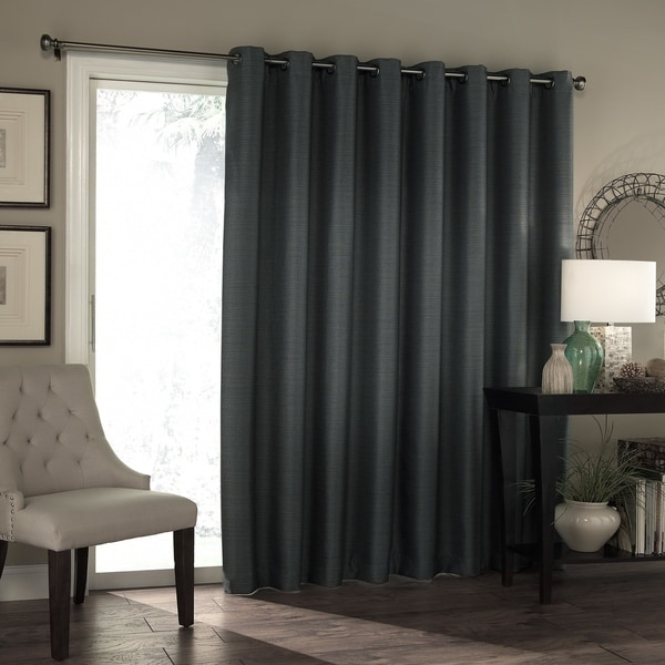 Shop Eclipse Bryson Thermaweave Blackout Patio Door Curtain Panel