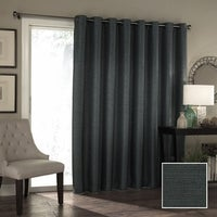 Eclipse thermal blackout patio door curtain panel 100x84 free eclipse bryson thermaweave blackout patio door curtain panel planetlyrics Image collections
