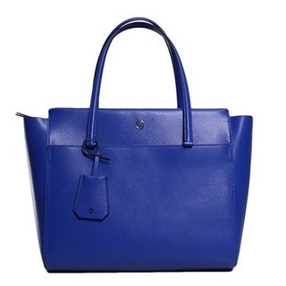 Tory Burch Parker Songbird/Royal Navy Tote Bag