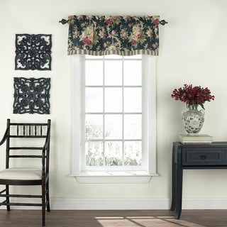 Waverly Sanctuary Rose Floral Window Valance