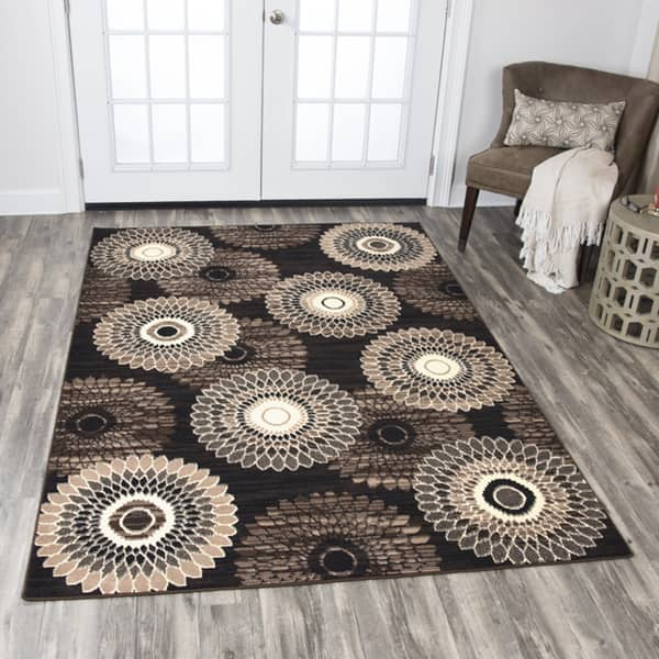 Shop Rizzy Home Xcite Brown Medallion Area Rug (8' x 10 ... on home design, home cell phones, home roof systems, home health, home decor, home upholstery fabric, home appliances, home windows, home sofa sleepers, home garden ideas, home funeral services, home countertops, home mirrors, home bed, home furnishings, home garden trees, home kitchen, home art collection, home walls,