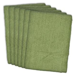 Green Microfiber Dishtowel (Set of 6)