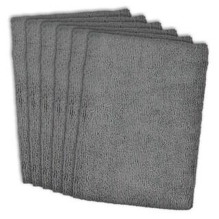 Grey Microfiber Dishtowel (Set of 6)