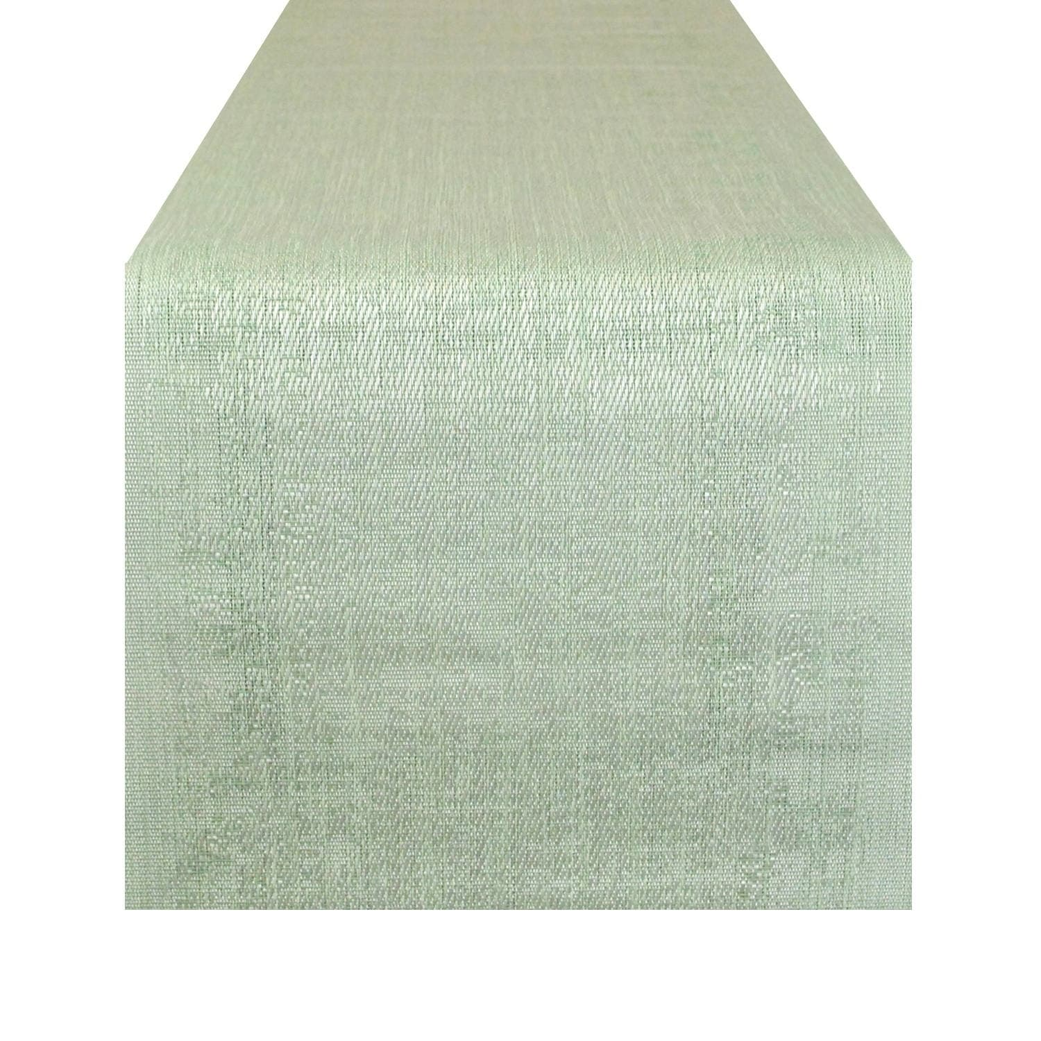 Space Dyed Green Table Runner (Forest Green) (Polyester)