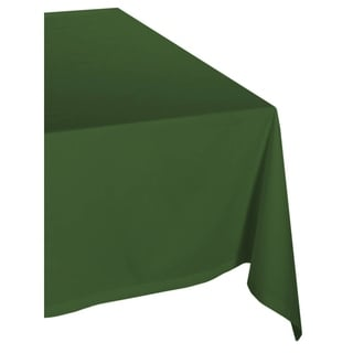 Delightful Green Polyester Tablecloth
