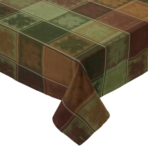 Mountain Pine Jacquard Tablecloth